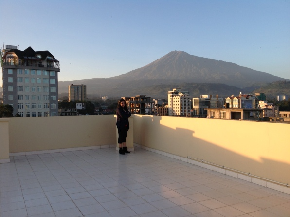 My handshake with Mount Meru