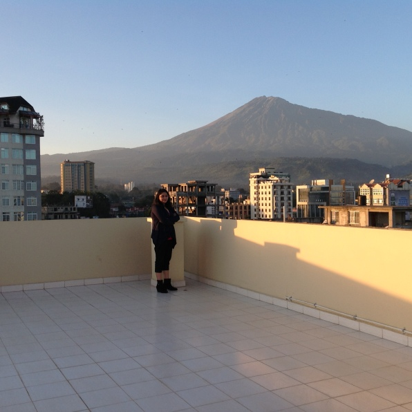 My handshake with Mount Meru